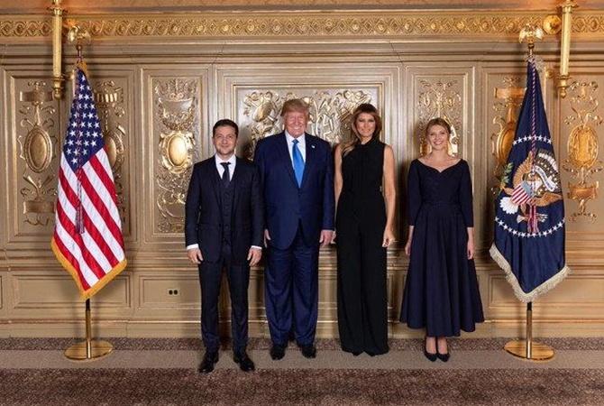 Зеленский встретился и пообщался с Трампом [фото]