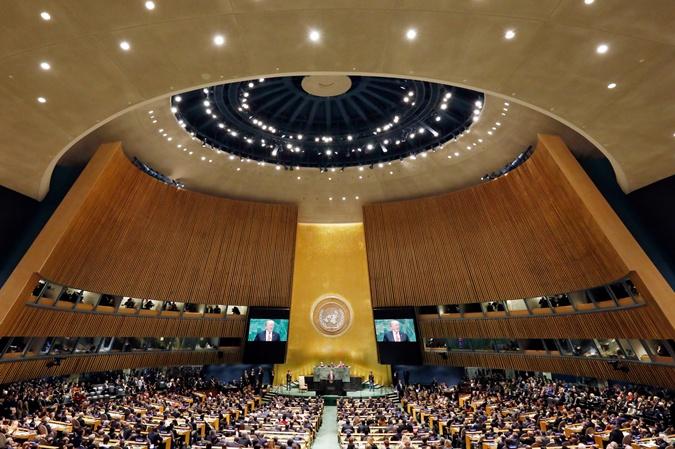 Зеленский в США: презентация в ООН и 45 минут с Трампом