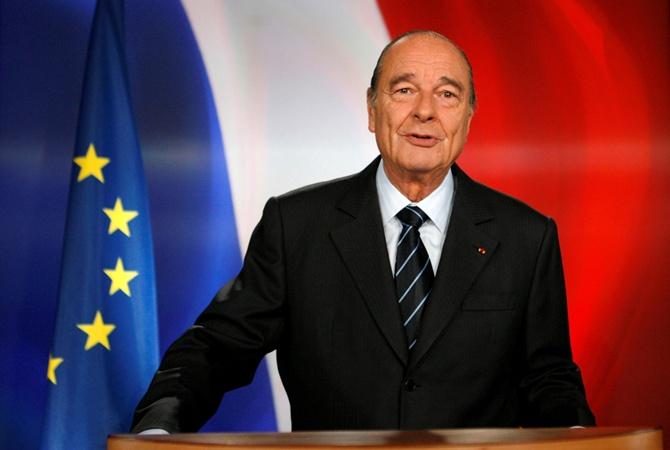 Скончался Жак Ширак – бывший президент Франции