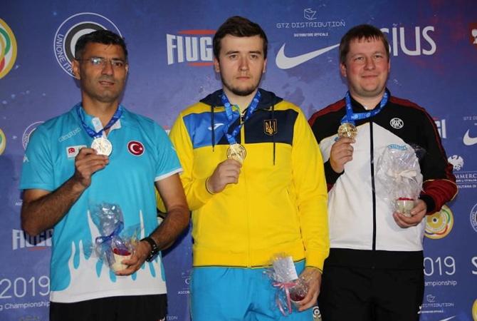 Украинец Коростылев стал чемпионом Европы по стрельбе