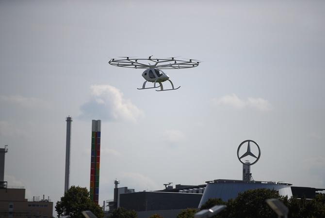Во Франции запустят воздушное такси