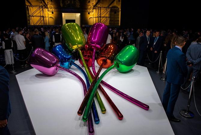 Выставленная на YES-2019 скульптура весит сотни тонн и стоит десятки миллионов   [фото]