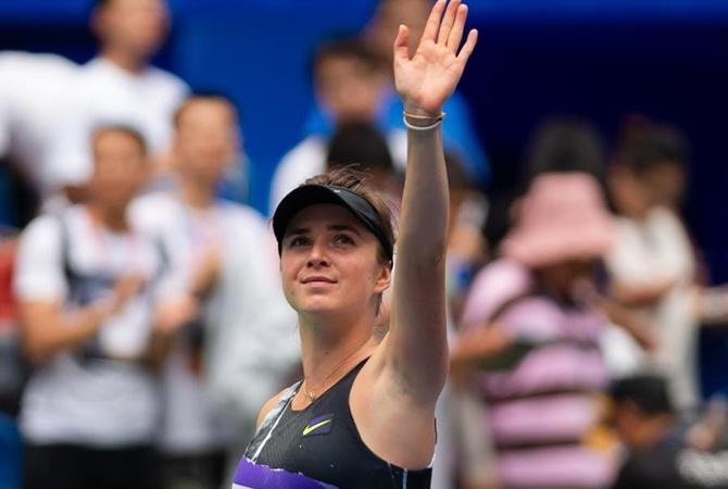 Свитолина вышла в 1/8 финала в Пекине [видео]