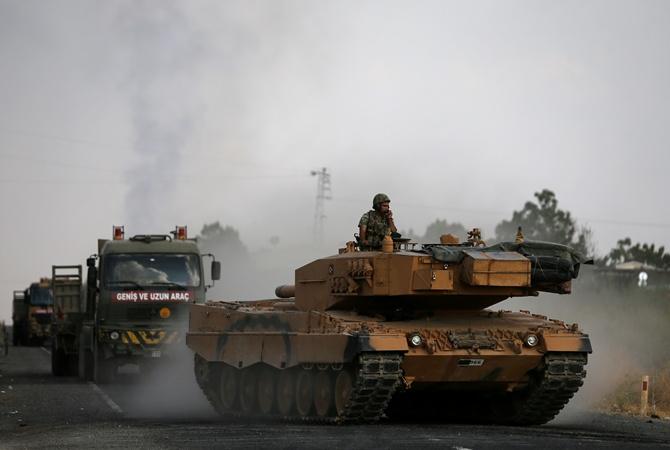 Курды обвинили Турцию в нарушении перемирия в Сирии. Эрдоган все отрицает [фото]