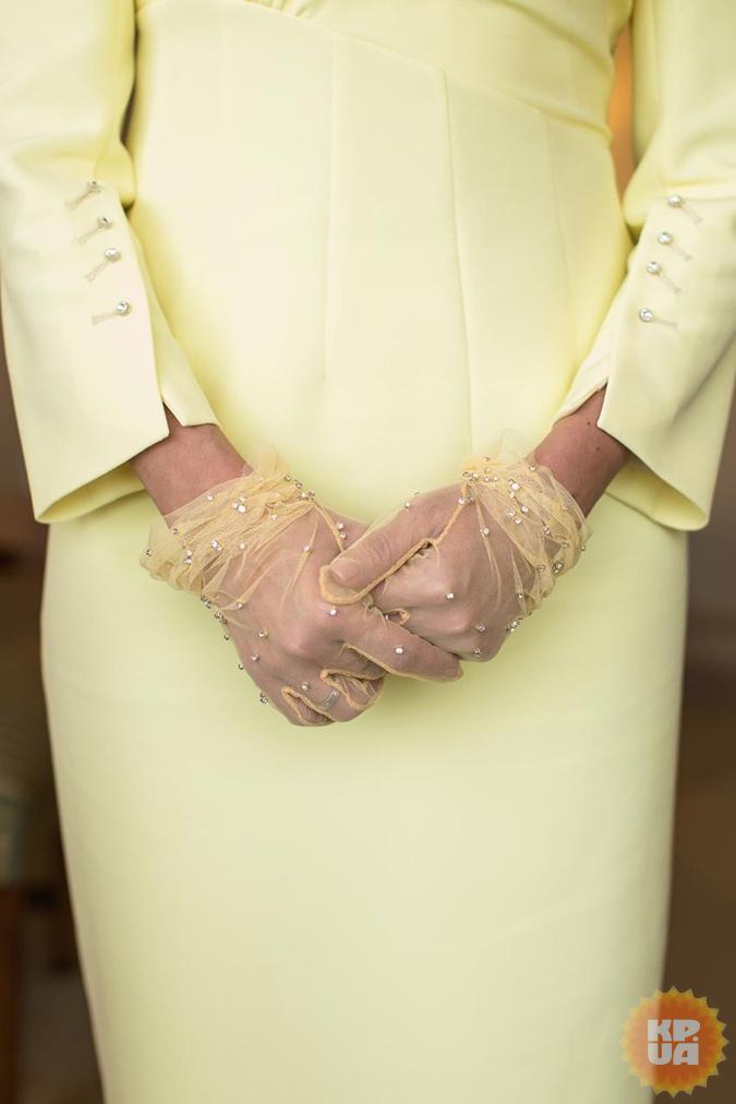 Елена Зеленская попросила сшить для приема в Японии платье-смокинг [фото]