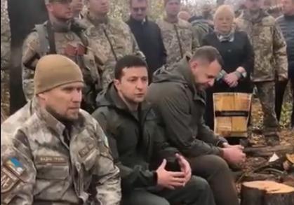 """""""Я не лох какой-то"""": о чем Зеленский говорил с добровольцами в Золотом [полная расшифровка]"""