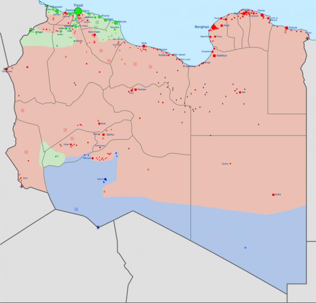 Война в Ливии: кому нужна страна и выгоден конфликт